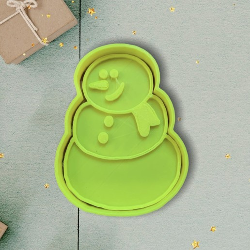 95B76760-834B-4456-BF4D-FF62D8E4D2A9.jpeg Download STL file Cookie Cutter Snowman Christmas • 3D print template, carloseduardoalfonsogarcia
