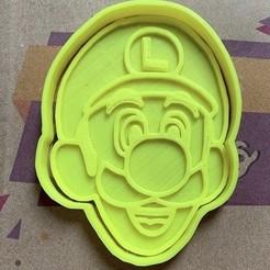 Descargar archivo 3D Set Cortadores de galleta Mario, carloseduardoalfonsogarcia