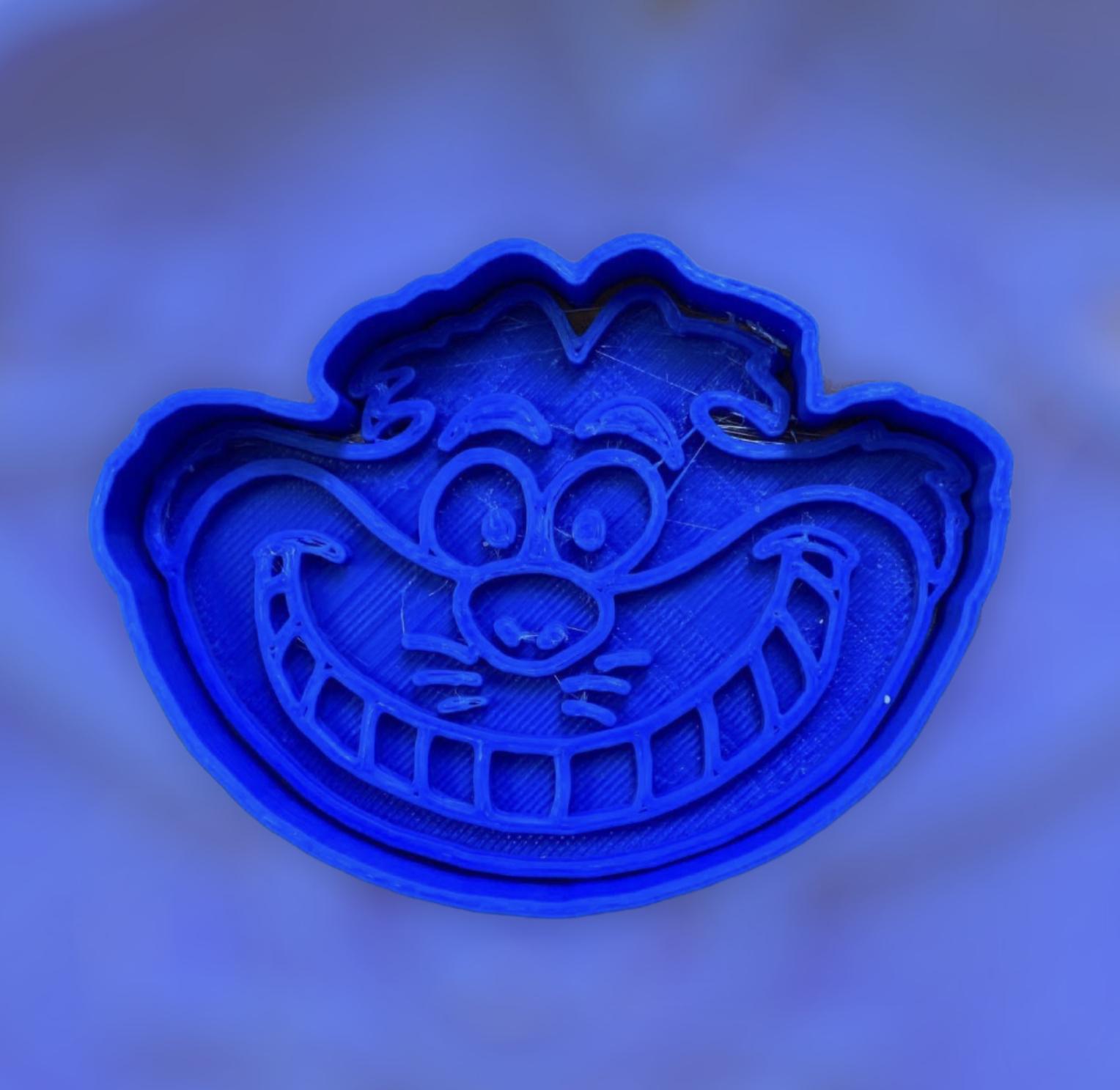 36B13322-4ACE-4E55-A706-2FF5BDAA0806.jpeg Download STL file The Cheshire Cat Cookie cutter • 3D printable template, carloseduardoalfonsogarcia