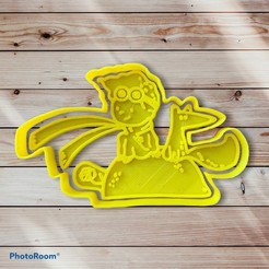 565A3702-C628-475F-9E16-BBDEBD6DBE52.jpeg Download STL file The Little Prince Cookie Cutter and Sealer • 3D printer object, carloseduardoalfonsogarcia