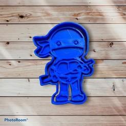 F92B2E6A-7A60-4D36-B3B2-30557DB4EAE3.jpeg Télécharger fichier STL Tortue ninja coupeuse de biscuits et chasseuse de phoques • Design imprimable en 3D, carloseduardoalfonsogarcia
