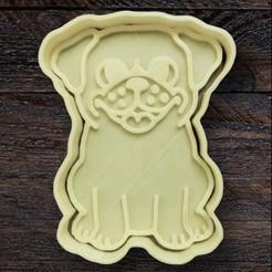FC53B8FC-29A9-46B6-9A73-8D776DE4004D.jpeg Download STL file Cookie Cutter Pug • 3D printing object, carloseduardoalfonsogarcia
