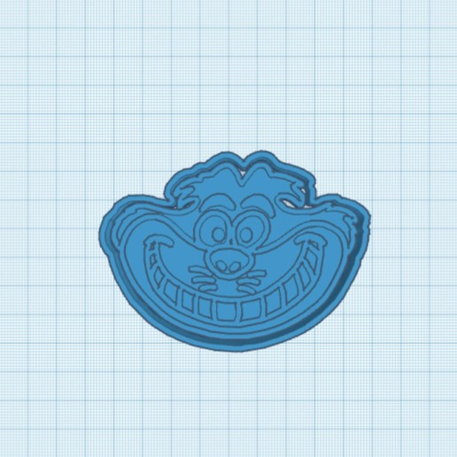 C76AD23B-952F-41D8-9C42-C7E846B928C0.jpeg Download STL file The Cheshire Cat Cookie cutter • 3D printable template, carloseduardoalfonsogarcia