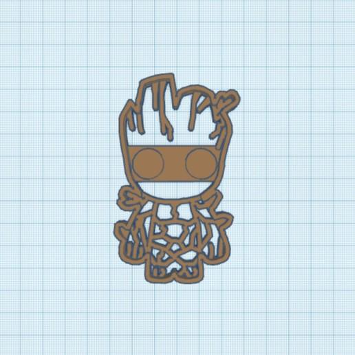 C20D7137-3F06-4FA1-AD90-282BEC956438.jpeg Télécharger fichier STL Coupe-biscuits Baby Groot • Plan pour impression 3D, carloseduardoalfonsogarcia