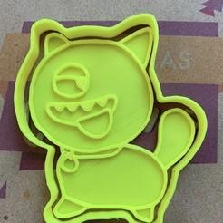 Download 3D printer templates Ugly Monsters Cookie Cutter Set, carloseduardoalfonsogarcia