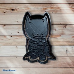 0620828F-6FFB-4842-A76C-249E432ED05B.jpeg Download STL file Batman Cookie Cutter and Sealer • 3D printing design, carloseduardoalfonsogarcia