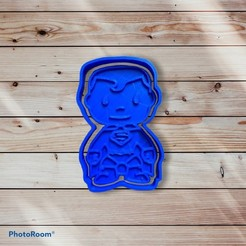 9428D91C-04BD-4EDD-AA40-3DE3AC77F457.jpeg Download STL file Superman Cookie Cutter and Sealer • 3D print object, carloseduardoalfonsogarcia