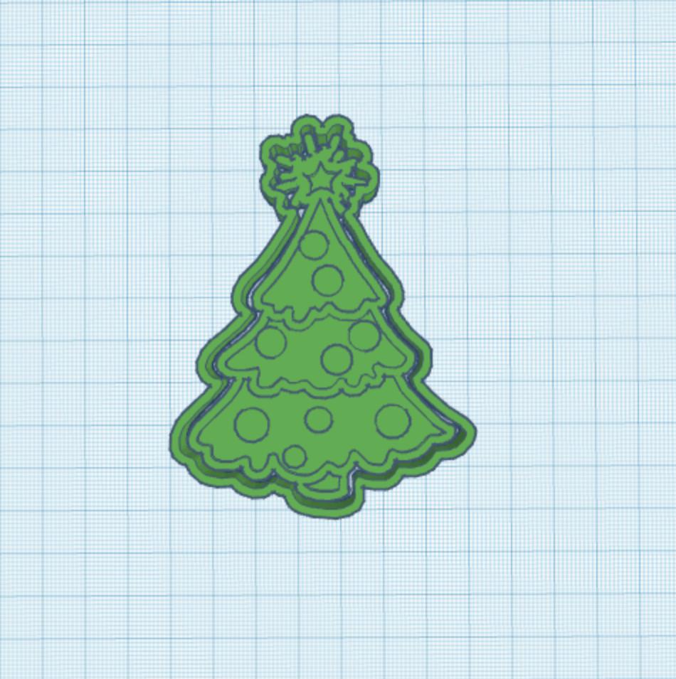 0DE3EF63-EBF4-44E9-9580-22B5B52CC240.jpeg Download STL file Cookie Cutter Christmas Tree • 3D printer template, carloseduardoalfonsogarcia