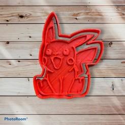 B0513949-0320-43C4-AF7D-7583FC93A0A9.jpeg Download STL file Picachu cookie cutter and sealer • Design to 3D print, carloseduardoalfonsogarcia