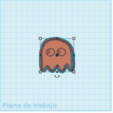 pacman ghost.png Download STL file Pacman Cookie Cutter and Sealer • Model to 3D print, carloseduardoalfonsogarcia