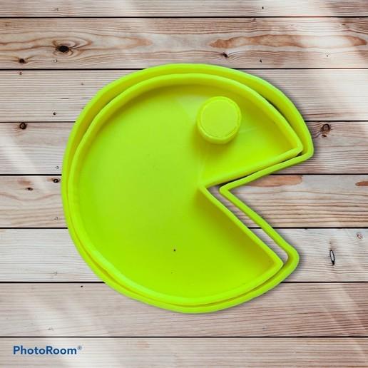 573496FF-8FD6-4000-86B8-76F11CB8257B.jpeg Download STL file Pacman Cookie Cutter and Sealer • Model to 3D print, carloseduardoalfonsogarcia