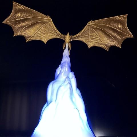 3D printer models Dragon GoT Lamp, Dicsoft