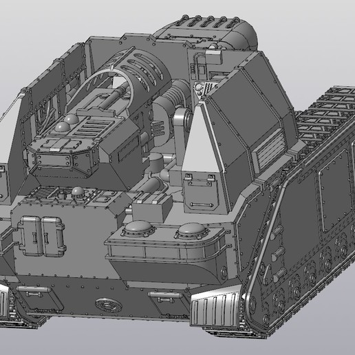 Screenshot_170.jpg Download free STL file Solar Lord Alpha tank • 3D printer design, Solutionlesn