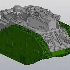 Screenshot_01.jpg Télécharger fichier STL 4ème char de combat planétaire • Plan imprimable en 3D, Solutionlesn