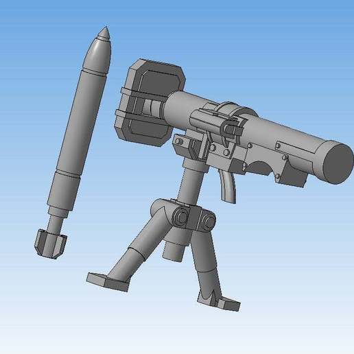 5c6c8fa5e2505577897cd93ef7c54f1b_display_large.jpg Download free STL file Missile launcher (Heavy weapons team) • 3D printing model, Solutionlesn