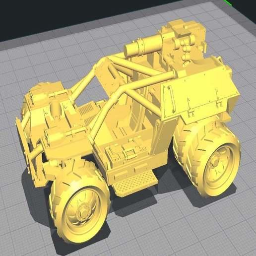Download free STL file Assault buggy, Solutionlesn