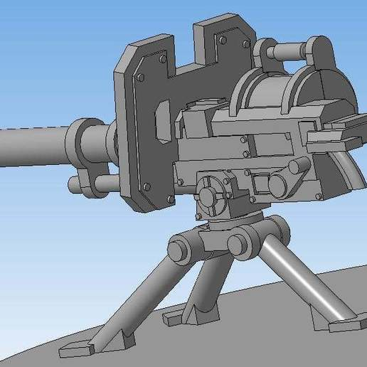 c7d33e7a2f71504be0d73ecaaf582dcf_display_large.jpg Download free STL file Autocannon (Heavy weapons team) • 3D print model, Solutionlesn
