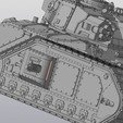Download 3D printing designs Solar Lord Vulcan tank, Solutionlesn