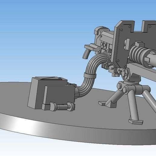 fec4e829d13b3b50a6530c1da4815264_display_large.jpg Download free STL file Lascannon (Heavy weapon team) • Model to 3D print, Solutionlesn