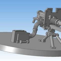 Download free STL file Lascannon (Heavy weapon team) • Model to 3D print, Solutionlesn