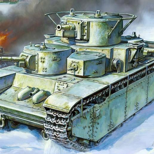 Descargar modelo 3D Un constructor de tanques no tan grande, Solutionlesn