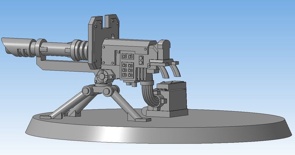 e343759c5f395f4a748cdc44923e7b31_display_large.jpg Download free STL file Lascannon (Heavy weapon team) • Model to 3D print, Solutionlesn