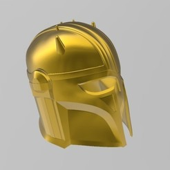 Download STL Star Wars Mandalorian Armorer (Blacksmith) Helmet, Hephaestus3D