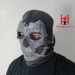 Download STL files MACE MASK CALL OF DUTY COD MODERN WARFARE WARZONE (INSPIRED), Hephaestus3D