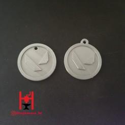 Descargar modelo 3D gratis Llavero de valor, Hephaestus3D