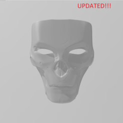 Download STL Revenant Full Face wearable Mask apex legends updated, Hephaestus3D