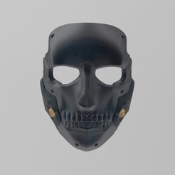 Download 3D printing templates Die Hardman Mask (inspired) from Death Stranding, Hephaestus3D