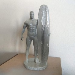 3D printer files Silver Surfer , Hephaestus3D