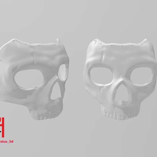 Download 3d Printer Templates Simon Ghost Riley Mask Call Of Duty