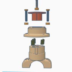 1.PNG Télécharger fichier STL quadlocK a molla V2 • Modèle imprimable en 3D, gramegna79