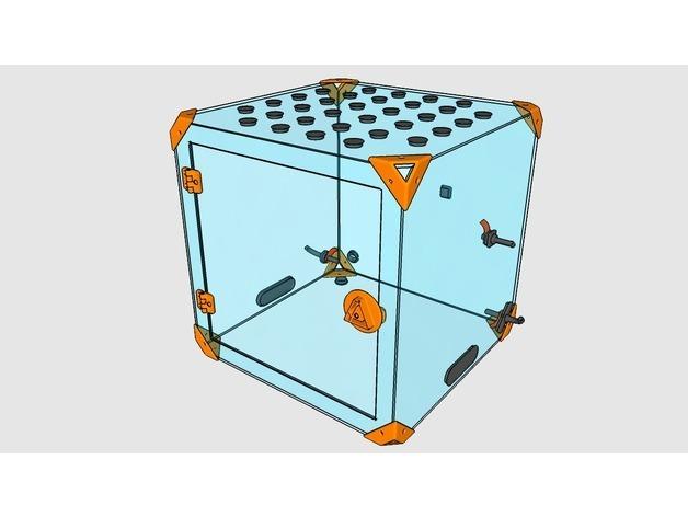 4c74baad9550b6352072ad2e9954af8a_preview_featured.jpg Télécharger fichier STL gratuit CAISSON DAGOMA - add-on obturateur/guide filament • Modèle à imprimer en 3D, badmax133