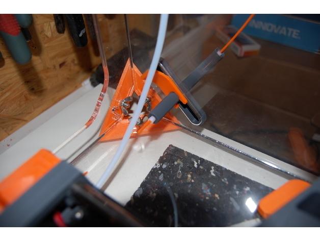06e164894fd1dd2b34c315043ae131c6_preview_featured.JPG Télécharger fichier STL gratuit CAISSON DAGOMA - add-on obturateur/guide filament • Modèle à imprimer en 3D, badmax133