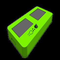 002.png Télécharger fichier STL gratuit DOUBLE ECRAN LCD12684 + MKS TFT32 ou MKS TFT35 • Plan imprimable en 3D, badmax133