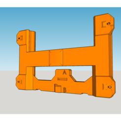 support_plateau_diso_monobloc_v8.png Télécharger fichier STL gratuit support plateau monobloc Dagoma DE/DU/DUXL easy print • Design à imprimer en 3D, badmax133