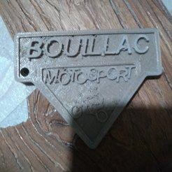 3D printer files Motorcycle cross key ring, davidgallot3