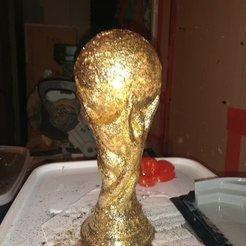 Fichier impression 3D gratuit Réplique de Coupe du monde solide, davidgallot3