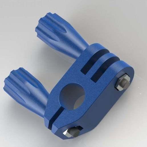 gopro_rotor_08.JPG Télécharger fichier STL gratuit GoPro 360 Support de rotor • Objet pour impression 3D, daGHIZmo