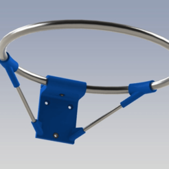 Download free STL file MINI BBALL HOOP MK2 • 3D printable object, daGHIZmo