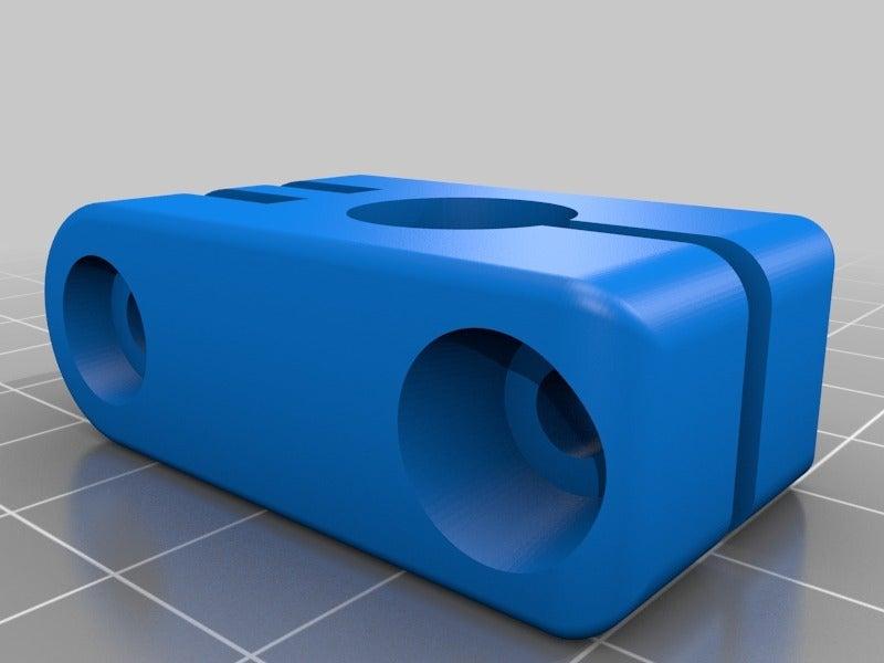 12mm_mount_clamp_captive_nuts.png Télécharger fichier STL gratuit GoPro 360 Support de rotor • Objet pour impression 3D, daGHIZmo