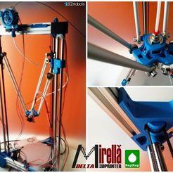 M3DPthing019.jpg Télécharger fichier STL gratuit MIRELLA Delta 3DPrinter • Plan à imprimer en 3D, daGHIZmo