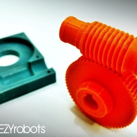 575e943d976980172027199e8ce97686_preview_featured.jpg Download free STL file Worm gearbox 1:60 • 3D printable object, daGHIZmo