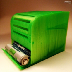 Download free 3D printing templates BATTERY DISPENSER, daGHIZmo