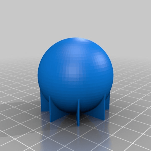 BBALL.png Download free STL file simply a ball • 3D printing model, daGHIZmo