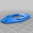 rised_plate.png Télécharger fichier STL gratuit GoPro 360 Support de rotor • Objet pour impression 3D, daGHIZmo