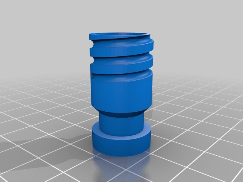 ADAPTER.png Télécharger fichier STL gratuit Adaptateur Bowden • Plan imprimable en 3D, daGHIZmo