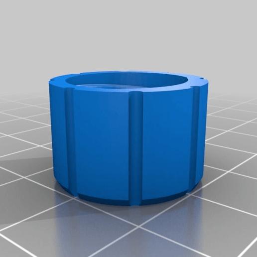 PRESS_CAP.png Télécharger fichier STL gratuit Adaptateur Bowden • Plan imprimable en 3D, daGHIZmo